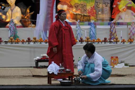 2013 탐라국 입춘굿놀이 천경문굿.<사진=김환철 기자>