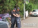 '육지경찰' 전진배치, 대체 뭘 노리고 있나?