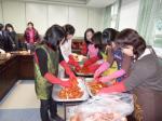 중앙중 학부모회, 김치 200포기 저소득층 가정에 전달