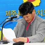 """제2공항 반대 1인시위  40대男, """"도와달라"""" 눈물 호소"""