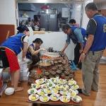 파라다이스로타리클럽, 아라복지관서 급식 봉사 전개