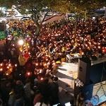 """주말 촛불집회...성난 시민들 """"대통령 퇴진하라"""" 함성"""