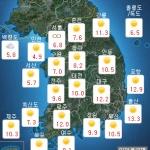[내일 날씨] 낮기온 17도 '포근한 2월'...밤부터 흐리고 비