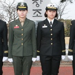 제주대 학군사관후보생 수료식...국내 첫 여성 해병 ROTC장교 탄생