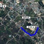 구좌읍 세화고 인근 도시계획도로 680m 구간 확.포장 추진