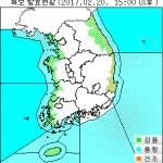 [날씨] 강풍.풍랑특보 확대...현재 기상특보 발효지역은?