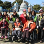 """[포토] 장애인과 비장애인의 '아름다운 동행' 7년...""""열사람의 한 걸음"""""""