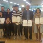 서귀포학생문화원, 2월 세대공감 독서마라톤 우승자 시상