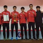 제주중학교 육상부, 제33회 코오롱 구간 마라톤 대회 단체 3위