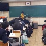 애월중, '4.3 주제 통합 프로젝트' 수업 운영