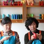 제주 여성들이 네팔천으로 바느질에 나선 이유는?