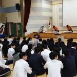 구좌119센터-김녕중학교 소방안전교육 실시