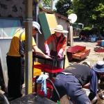 표선백사봉사단, 저소득 가구 주거환경 정비 봉사
