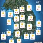 [내일 날씨] 대체로 맑고 초여름 더위...대조기 해수면 상승