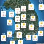 [오늘 날씨] 대체로 맑음, 30도 무더위 기승...이번주 주간예보는?
