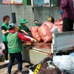 용담2동새마을부녀회 클린하우스 불법쓰레기 단속 활동