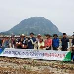 남원농협, 마늘수확 일손돕기 봉사활동 실시