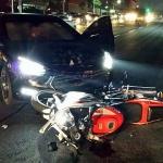 제주, 오토바이-승용차 충돌...10대 2명 부상