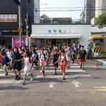 동홍동바르게살기위원회, 7월 교통거리질서 캠페인 실시
