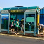 법환동 새마을부녀회, 버스승차대 환경정비