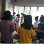 서귀포시진로교육지원센터 '현장직업체험 - 바리스타'프로그램 운영