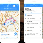 카카오맵 '자전거 길찾기' 모바일 지도앱 서비스 개시