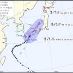 제18호 태풍 '탈림' 일본 상륙...18일 소멸될 듯