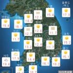 [오늘 날씨] 흐리고 산발적 '빗방울'...미세먼지 농도 '보통'