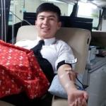 제주대학교 학생군사교육단, 단체 헌혈 참여