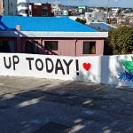 구좌청소년문화의집, 골목길 콘크리트담 '벽화 그리기'