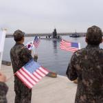 美핵추진 잠수함, 제주 민군복합항 입항