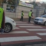 용담2동 청소년지도협의회, 수능 고사장 교통질서 봉사활동 전개