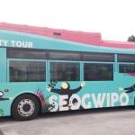 첫 발 떼는 서귀포 시티투어 전기버스...11일부터 운행