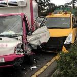 제주, 애조로 차량 3중 추돌 사고...4명 부상