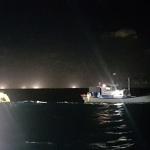 어선, 화물선과 충돌 침몰 '아찔'...승선원 8명 전원 구조