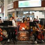 서귀포여고, 아르스 오케스트라의 '아름다운 올레길 연주회' 개최