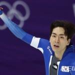 """이승훈, 스피드스케이팅 5000m '5위'...""""만족스럽다"""""""