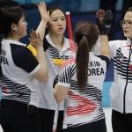 女컬링, 中 제치고 3연승 '4승1패'…4강 청신호