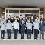 이상정 제주경찰청장, 동부경찰서 치안상황 점검