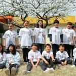 풍천초 학생들의 4.3기억하는 방법...'티셔츠에 동백꽃 문양 스텐실'