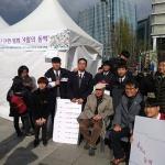 '4.3 동백꽃 배지' 제작 대정고 학생들, 수익금 전액 기탁