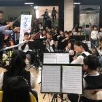 삼화초, 등굣길 오케스트라 향연 '눈길'