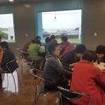 해적표선점, 표선리 노인회 식사 제공
