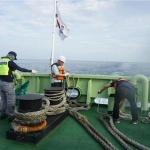 남해어업관리단, 엔진고장 표류어선 구조