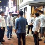 김명만 후보, 선거운동 첫날 새벽 상인.청년 표심공략