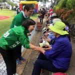 고은영 후보 주말 유세, 지역-학교 체육대회 표심 공략