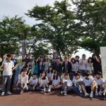 애월중학교, 허그데이 행사 운영