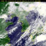 [오늘 날씨] 비 그치고 낮부터 구름 많음..제5호 태풍 경로는?