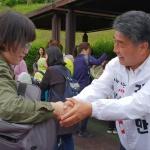 김명만 후보, 마지막 휴일 '학부모 표심 공략' 주력