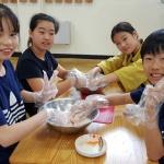 구엄초, '식(食)사랑 농(農)사랑 삼색수제비 만들기' 체험학습